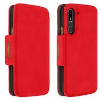Original Doro Wallet Case, magnetische Brieftasche für Doro 8080 – Rot