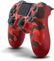 Sony Playstation 4 Wireless Dualshock 4 V2 Controller PS4 , Camouflage Red