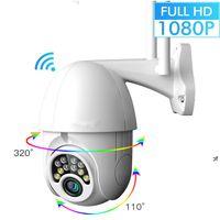 Sunnyme GUUDGO 1080P Kabellos Außen Akku Überwachungskamera Wlan Outdooor Smart PIR Kamera IP66 Wasserdicht Nachtsicht