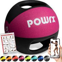 Medizinball Bunt versch. Gewichte mit 2 Handgriffen Studioqualität Gewicht: 6 kg