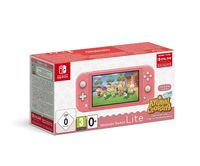 Nintendo Switch Lite koralle inkl. Animal Crossing
