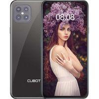 CUBOT C30 Smartphone ohne Vertrag Handy 8 + 128 GB,48MP AI Quad-Kamera,6,4 Zoll FHD Display, 4200mAh Akku, 4G LTE Dual SIM  Android 10.0 NFC Face ID Fingerabdruck, Schwarz
