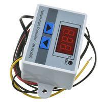 Digitaler Thermostatschalter Sonde LED Temperaturregler DC12V / 24V