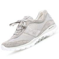 GABOR Rollingsoft Damen Sneaker Grau, Schuhgröße:EUR 38.5