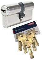ABUS Bravus.4000 Doppelzylinder mit BZD u. N+G, Länge (a/b) 30/30mm (c=60mm), mit 5 Schlüssel, nach DIN EN1303, Angriffswiderstandsklasse D, RC2/RC3 Level geeignet