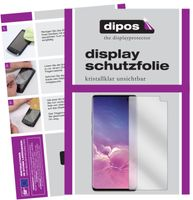 2x Samsung Galaxy S10 Plus Schutzfolie klar Displayschutzfolie Folie Display