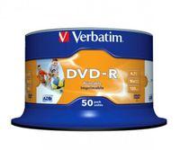 Verbatim DVD-R Rohlinge 50er Spindel bedruckbar