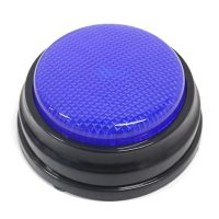 Aufnahmefaehige Sprechtaste mit LED-Lernressourcen Antwortsummer Blau
