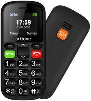 1,8'' Mobiltelefon Seniorenhandy Grosstastentelefon bluetooth Dual-SIM Handy Mobiltelefon