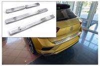 Ladekantenschutz und Einstiegsleisten für VW T-Roc A1 Abkantung Rostfrei 2017-
