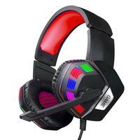 Gaming Headset Mit Mic Gamer Kopfhörer Mikrofon Bass Surround Für Laptop