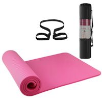 72x24IN Yogamatte, Rutschfeste Pilatesmatte, Gymnastikmatte, rutschfest ,Übungsmatte Sportmatte für Yoga,Pilates, Fitness usw.