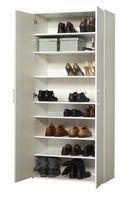 Wilmes 40101-75 0 75 Schuhschrank Ronny, 2 Türen, Weiß