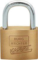 Messing-Zylinderschloss 217 30 Schlosskörper-B.30mm MS versch.-schl.BURG-WÄCHTER