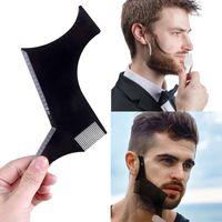 Bartschablonen Bartpflege Bart schablone für Kinnbart, Hals und Koteletten Bartschablone Style