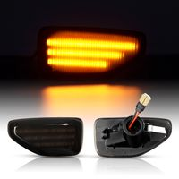 Dynamische LED SEITENBLINKER Schwarz für Dacia Duster 2