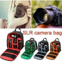 Kamerarucksack Fotorucksack Fototasche Wasserdicht Bag für Canon Nikon SLR DSLR (Grau)