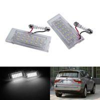 2x SMD LED Kennzeichenbeleuchtung Nummernschildbeleuchtung für BMW X3 E83 X5 E53 51137062293, 51137004537
