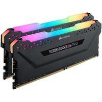 Corsair Vengeance RGB Pro 16GB Kit (2x 8GB) DDR4-3200MHz Schwarz