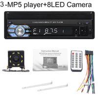 9601 7-Zoll-Bluetooth-Auto-FM-Radio-Audio-Video-MP5-Player mit Rückfahrkamera - mit 8-LED-Rückfahrkamera