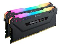 CORSAIR Vengeance RGB PRO - DDR4 - Kit - 32 GB: 2 x 16 GB - DIMM 288-PIN - 3600 MHz / PC4-28800 - ungepuffert