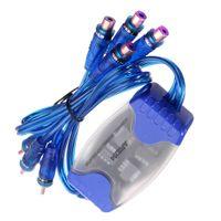 Universal Kanal 4 RCA Ground Loop Isolator Rauschfilter Entstörfilter für Auto Audio