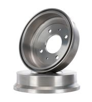 2x RIDEX HINTEN HINTEN Bremstrommel für SMART FORFOUR 454