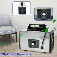 20g Luftreiniger Ozongenerator Ozonisator Ozongerät Stumm Haus Zeitschalter Luftfilterung Maschine mit Zeitschalter 220V 120W