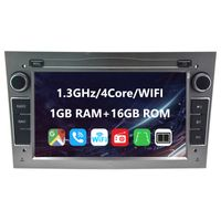 Eunavi 7 Zoll Android 10 Autoradio Auto Multimedia Player mit WIFI Mirrorlink GPS Für Opel Astra Antara Vectra Corsa Zafira Meriva Vivara Vivaro Combo Signum Tigra Twin Top
