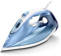 Philips Azur 45g/Min. konstante Dampfleistung, Dampfbügeleisen, Dampfbügeleisen, SteamGlide-Bügelsohle, 2 m, 180 g/min, Blau, 45 g/min