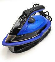 Rowenta DE5010 Dampfbügeleisen ohne Schnur mit Ladestation blau schwarz