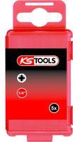 "KS Tools 1/4""TORSIONpower Bit,75mm,PZ3,5er Pack, 918.3261"