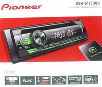 PIONEER DEH-S120UBG Autoradio CD MP3 USB AUX Flac grüne Tasten Beleuchtung