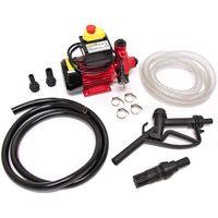 Monzana Dieselpumpe Ölabsaugpumpe 40L/Min 370W   inkl. Zapfpistole+Zubehör - Absaugpumpe Ölpumpe Heizöl