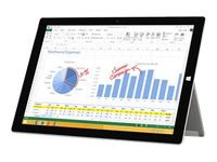 Microsoft Surface 3 - Tablet - keine Tastatur - Atom x7 Z8700 / 1.6 GHz - Windows 8.1 Pro 64-Bit - 4 GB RAM