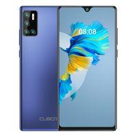 CUBOT Smartphone ohne Vertrag J9 Handy, Android 10 Go 15,6cm (6,2 Zoll) HD+ Display, 13MP-Quad-Kamera, 4200mAh Akku 2GB RAM 16GB Speicher, 128 GB erweiterbar, Blau