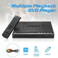 1080P Full HD Multi Region DVD Player Fernbedienung USB Automatisch CD Spieler