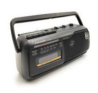 Panasonic RX-M40DE-K Mono-Radio-Recorder