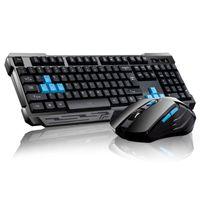 2.4G Wireless Gaming Tastatur Maus Sets Desktop Tastatur Maus Combo Ergonomisches Design für Home Office Laptop PC Gamer