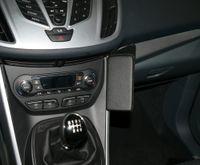 Haweko Telefonkonsole Für Ford C-Max, Bj. 12/2010- Leder, Schwarz