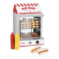 Royal Catering Hot Dog Steamer - 2.000 W