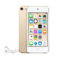 Apple iPod touch 128GB, MP4-Player, 128 GB, Lightning, Integrierte Kamera, Gold, Kopfhörer enthalten