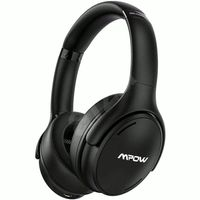 Mpow H19 IPO Bluetooth kabelgebunden OverEar Kopfhörer Noise Cancelling Schwarz