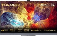 TCL 65C825 Mini-LED Fernseher 65 Zoll (164cm) QLED Smart TV (4K UHD, Android 11, Unterstützt 120hz Gaming, Dolby Vision IQ & Atmos, ONKYO Audio System, Google assistant & Alexa)