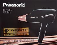 Panasonic EH-NA98-K825 Haartrockner mit nanoe-Technologie, Styling-Düse, 1800 Watt, Schwarz/Roségold