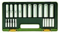 Proxxon Tiefbett-Steckschlüsselsatz 1 4 und1 2 20-tlg.
