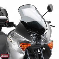 GiVi Windschild getönt, 499 mm hoch, 332 mm breit für Honda XL 125V Varadero Bj. 2001 - 2006, mit ABE