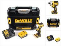 DeWalt DCF 887 P1 Akku Schlagschrauber 18V 205Nm Brushless + 1x Akku 5,0Ah + Ladegerät + TSTAK