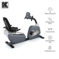 KETTLER® Liegeergometer Avior R | 12 Trainingsprogramme | Hohe Gewichtsbelastung von 130kg | LCD Display | ergonomischer Sitz, einfach verstellbar | Transportrollen | Handpulssensoren
