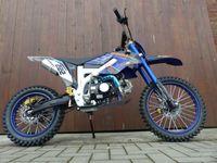 125ccm Dirtbike Pitbike Cross 125cc 4Takt 4 Gang 17/14 Zoll Blau Enduro Motorrad